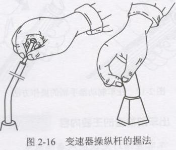 (4)抬起离合器踏板,同时踩下加油踏板.