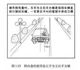 科目三直线行驶技巧图解