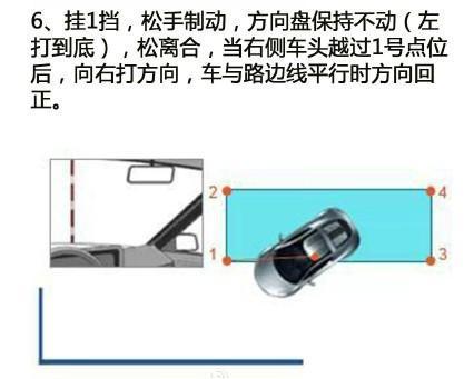 科目二侧方位停车操作技巧图解