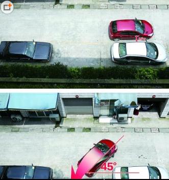 停车入位技巧图解【3步到位】