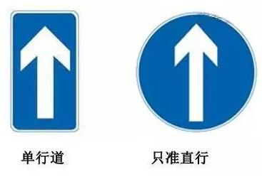 常见道路交通标志牌辨识图片