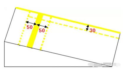坡道定点停车怎么对线找点